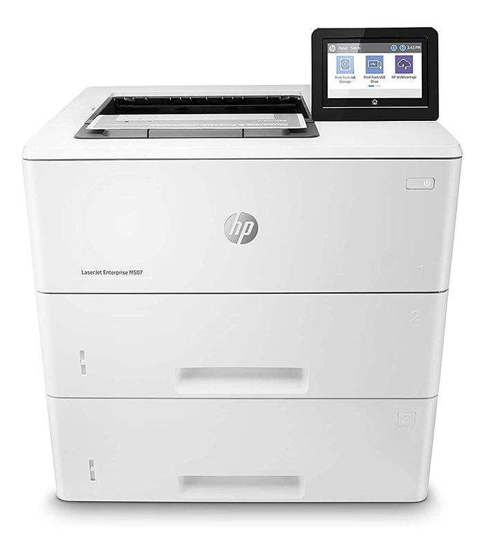 HP LaserJet Enterprise M507x Monochrome Printer