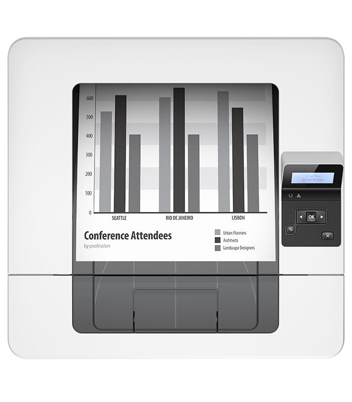 HP LaserJet Pro M402dn Monochrome Laser Printer