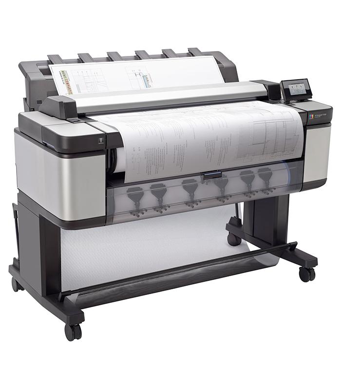 HP DesignJet T3500 Production eMFP Color Printer