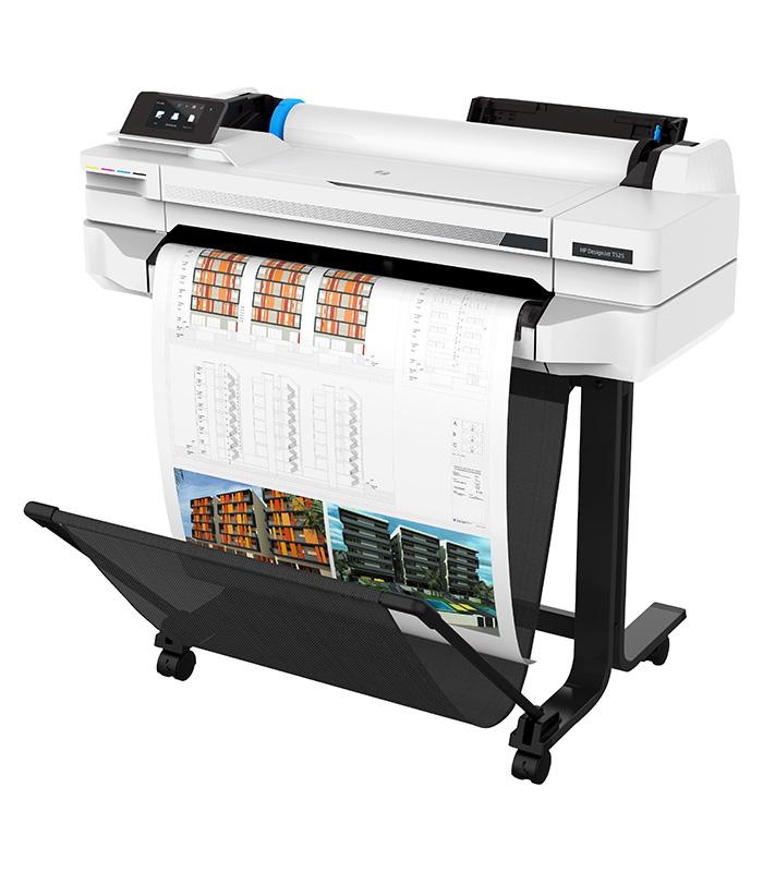 HP DesignJet T525 Large Format Wireless Plotter Printer