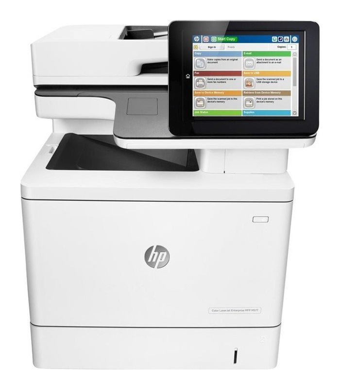 HP LaserJet M577dnm Laser Multifunction Printer - Color - Plain Paper Print