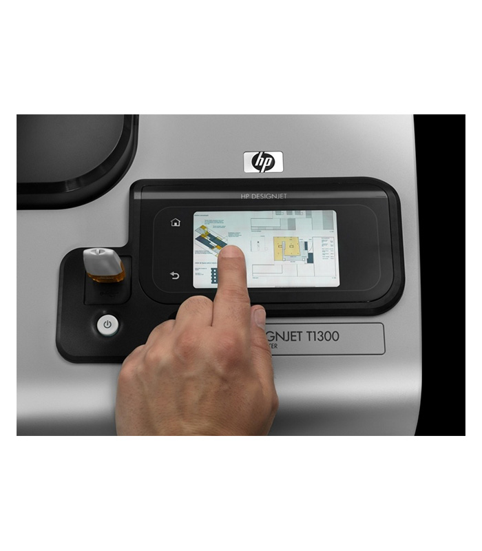 HP DesignJet T1300 44-in PostScript Printer