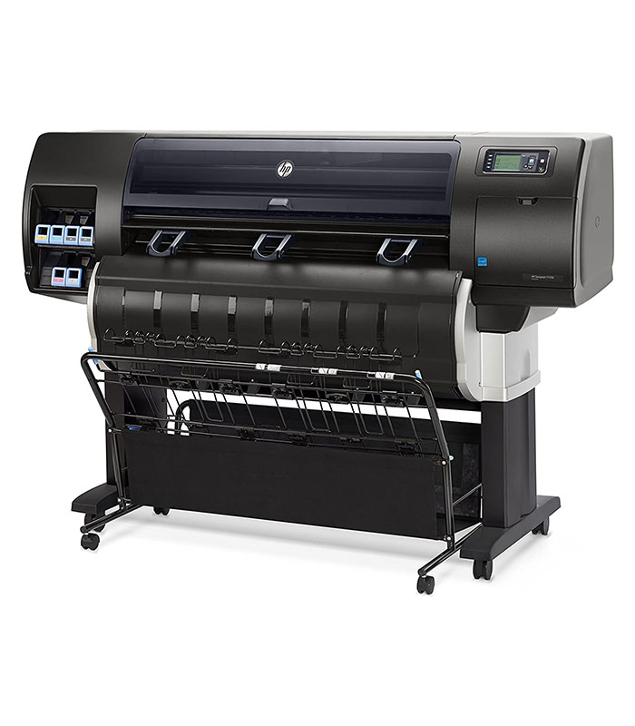 HP DesignJet T7200 42-in Production Printer with Encrypted Hard Disk