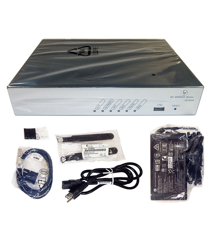 HP MSR930 4G LTE/3G WCDMA ATT Router JG704A