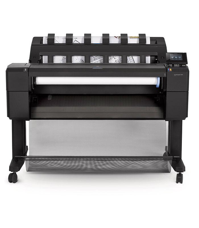 HP DesignJet T930 36-in PostScript Printer with Encrypted Hard Disk