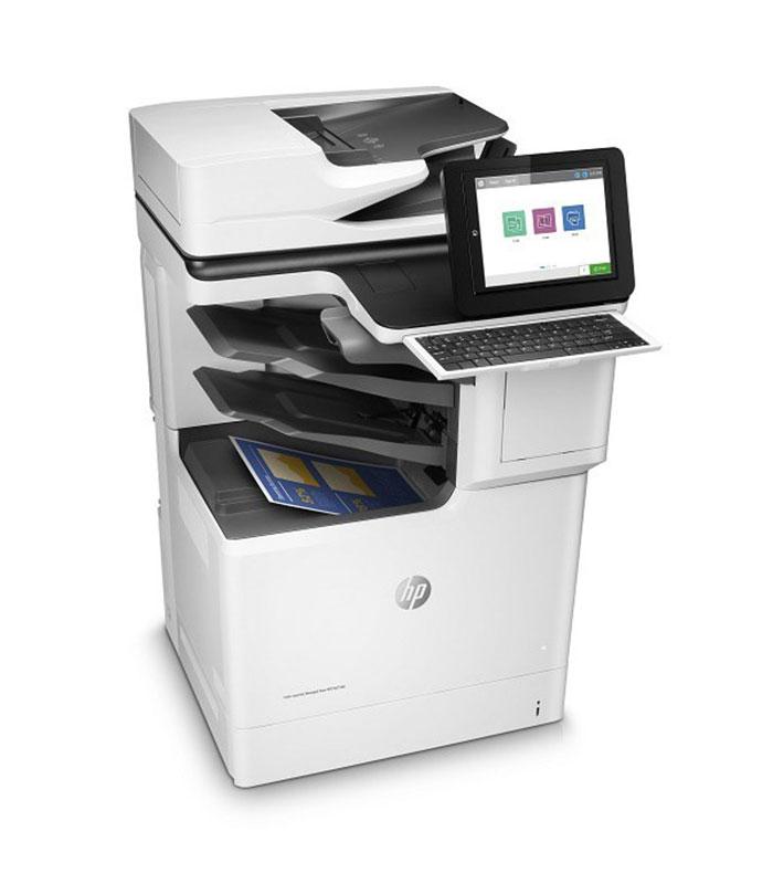 HP L3U70A Printer Color Laserjet MGD Flow MFPE67560