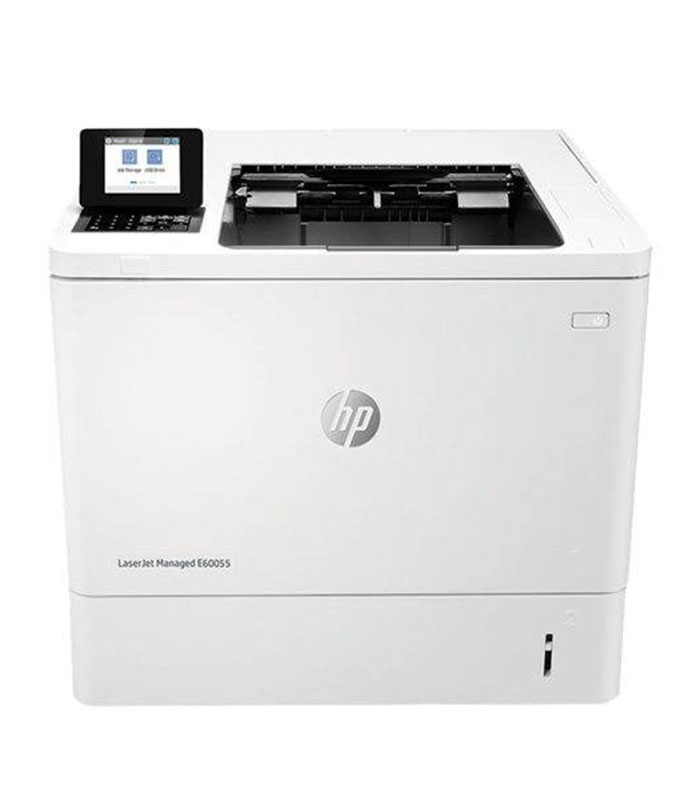 HP LASERJET MANAGED E60055DN MONO LASER PRINTER, REFURBISHED