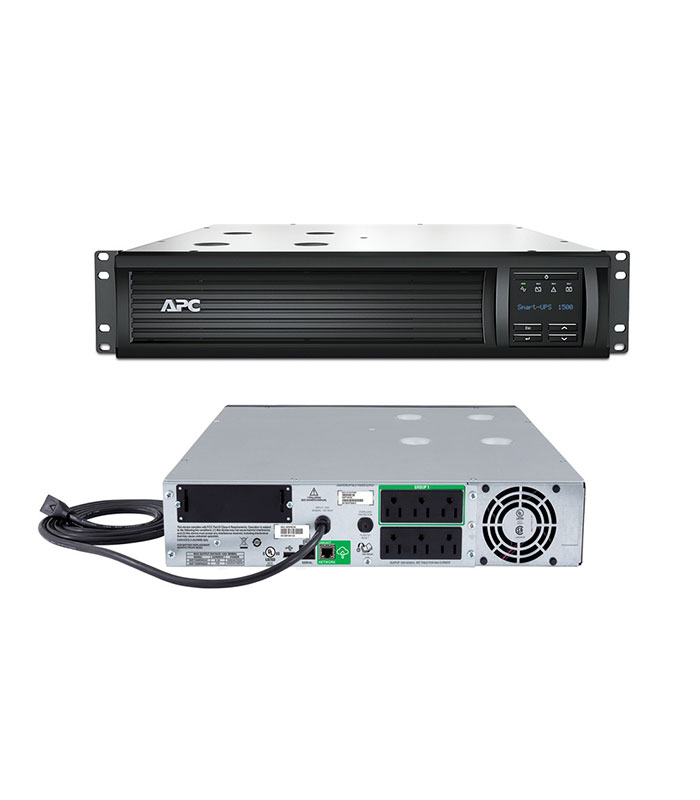 APC Smart-UPS 1500VA, Rack Mount, LCD 120V with SmartConnect Port